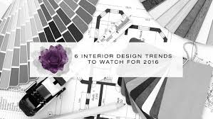 6 interior design trends to follow 2015 2016 youtube