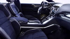 Lincoln Continental Matrix 2015 Lincoln Continental Concept Interior B Roll Video Youtube