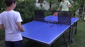 Table Tennis Meeting Table Table Tennis Tricks With Dominoes Meeting With Austrian