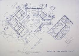 wonderful 24 x 36 blueprint of the addams family house made the