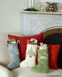 knit christmas sock pattern for knit christmas martha stewart