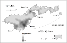 American Samoa Map Leptospirosis In American Samoa U2013 Estimating And Mapping Risk