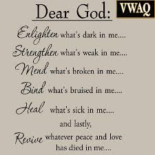 dear god enlighten what s dark in me wall decal inspirational home wall quotes bible verses dear god enlighten what s dark in me wall decal inspirational words motivatio