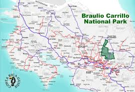Map Of San Jose Costa Rica by Braulio Carrillo National Park Costa Rica