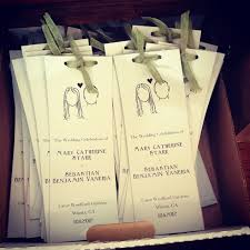 wedding programs diy diy wedding programs and logo