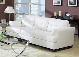 bonded leather living room 15095