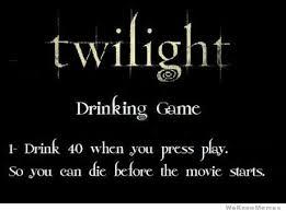 Meme Drinking Game - twilight drinking game weknowmemes