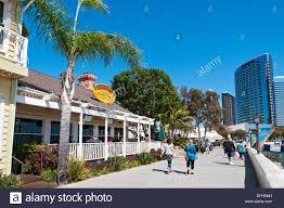california san diego seaport village buster u0027s beach house stock