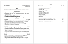 Sample Resume Bullet Points by Sample Teacher Resume Christian Bessler U0027s U Pull And Save