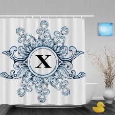 online get cheap monogrammed shower curtain aliexpress com