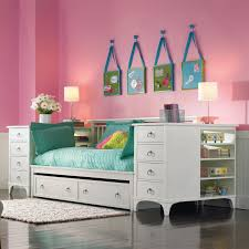 White Wooden Daybed White Wooden Daybed With Two Big Shelves Under The Bed Plus Eight