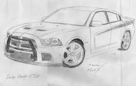 Dodge Challenger Drawing - dodge charger csr by racerxnfs on deviantart