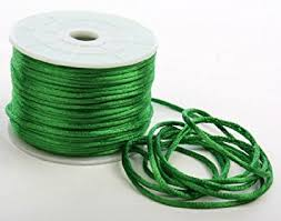 rattail cord buy emerald green 100 polyester satin rattail cord with soft