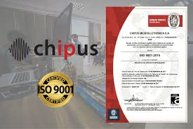 bureau veritas brasil chipus microelectronics receives iso 9001 certification chipus
