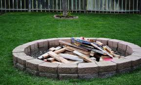 Backyard Campfire Diy Backyard Fire Pit Ideas Home Fireplaces Firepits How To