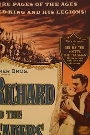 king richard and the crusaders u201d movie poster