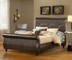 King Size Leather Sleigh Bed Bedroom Traditional Vaughan Furniture Georgetown King Size Sleigh