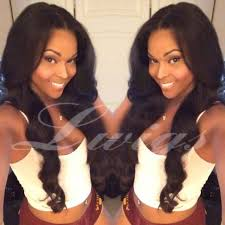 weave hairstyles with middle part curly brazilian human hair middle part glueless wig for black