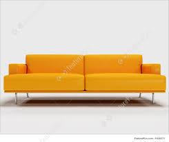 Orange Sofa Living Room by Illustration Of 3d Orange Sofa