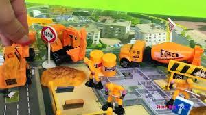 action play set construction mighty machines bulldozer excavator