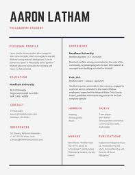college resume formats cv in tabular form 18 tabular resume format templates wisestep