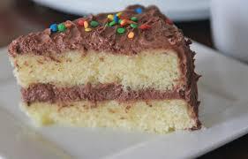 fluffy moist homemade yellow cake recipe divas can cook