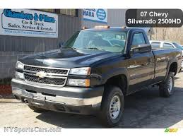 Classic Chevrolet 4x4 Trucks - 2007 chevrolet silverado 2500hd classic work truck regular cab 4x4