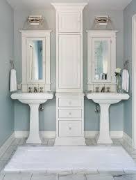 bathroom pedestal sink ideas pedestal sink bathroom traditional with medicine cabinets