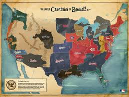 True Map Of The World Map Of Baseball Teams In Usa World Maps