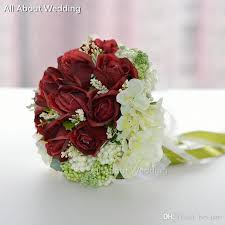 free shipping flowers in stock ready to ship ribbon flower wedding bridal