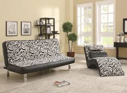 nice design of the contemporary brown and tan zebra sofas pillows