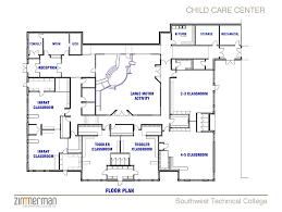 Day Care Centre Floor Plans | facility sketch floor plan family child care home daycare