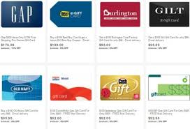 gas gift card deals 8 on gas plus lots of other discounted gift cards on ebay