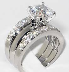 3000 dollar engagement ring 3 37 ct cz solitaire bridal engagement wedding 3 ring