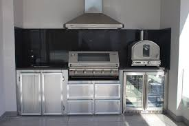 stainless steel outdoor kitchen cabinets outdoor alfresco kitchens custom stainless steel kitchen design 616
