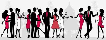cocktail party clipart clipartix