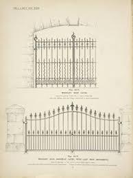 decorative wrought iron ornamental iron gate fence railings