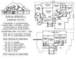 4 bedroom 2 story house plans wonderful single story house plans with 5 bedrooms pictures ideas