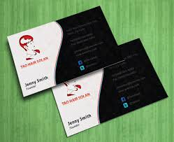 business card template photoshop free download best