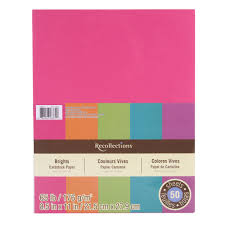 find the brights cardstock paper by recollections at