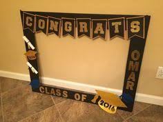diy photo booth frame graduation signature frame celebrations frame display and grad