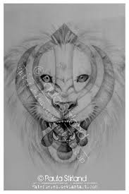 khanda lion tattoo sketch photo 5 real photo pictures images