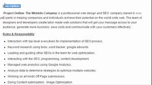 Seo Resume Seo Manager Sample Resume Format Download Youtube
