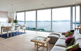 deck ocen views floor to ceiling windows house in prospect home