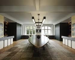 futuristic interior design home office modern grey hang lamp futuristic interior design