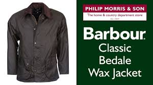 barbour classic bedale wax jacket key features youtube