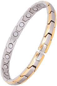 bracelet magnetic images Elegant womens titanium magnetic therapy bracelet pain jpg