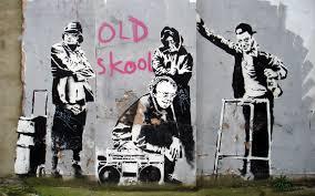 art politics banksy bansky and street art artist