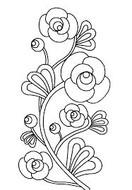 imagenes fotos dibujos flores colorear parte 2