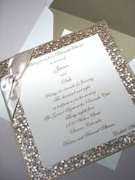 new years wedding invitations gold glitter wedding invitation for a new year s